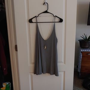 Urban Outfitters Gray/Blue Tank